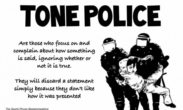 Don't Be a Tone Police on Social Media