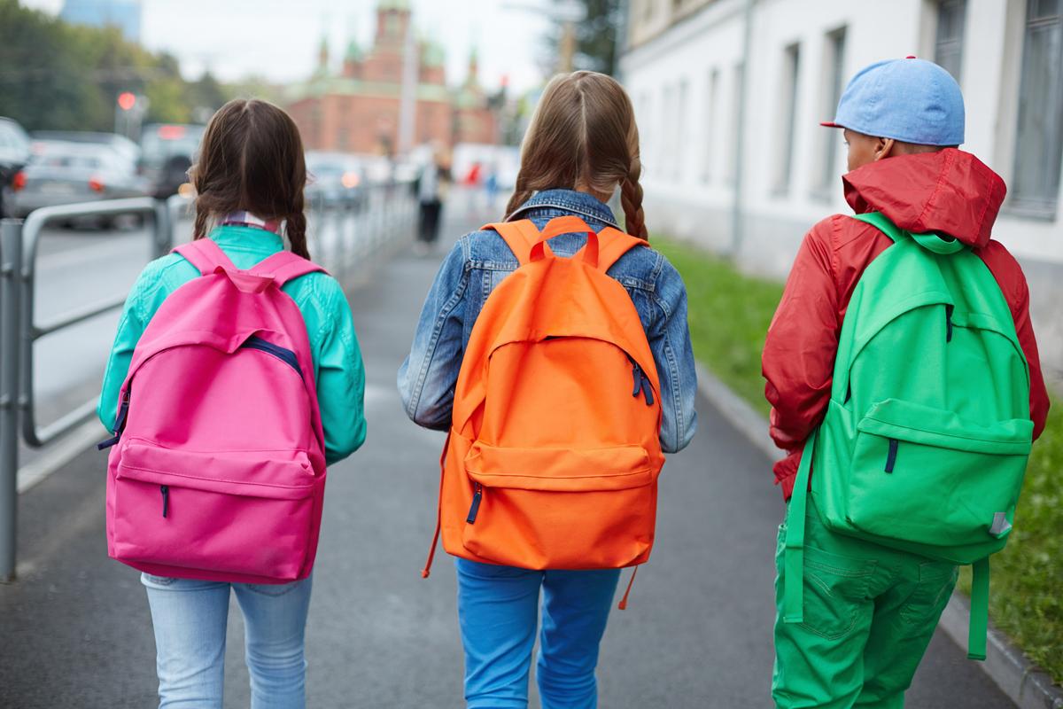 backpacks back pain children