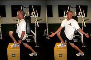 active stretching hip flexors