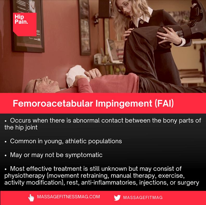 femoroacetabular impingement fai
