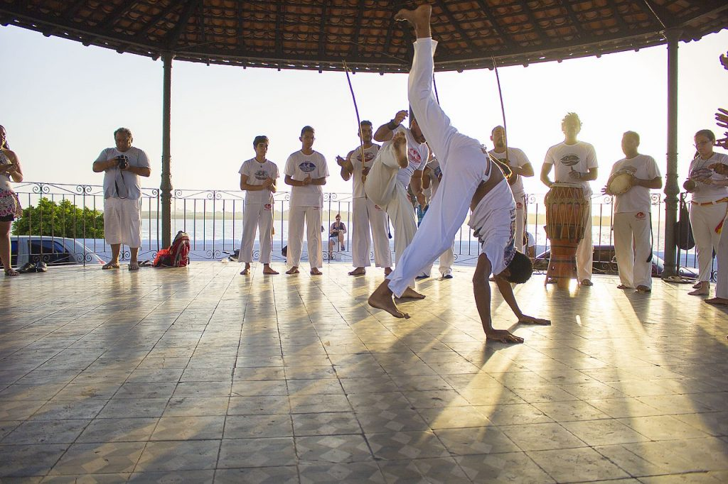 brazilian capoeira performance