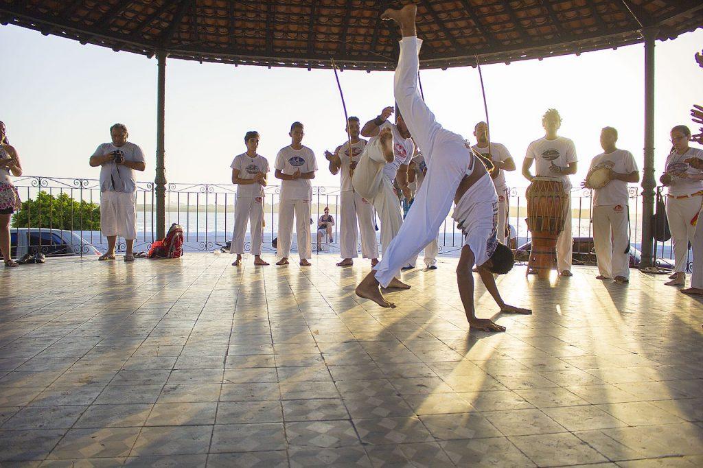 brazilian capoeira performance